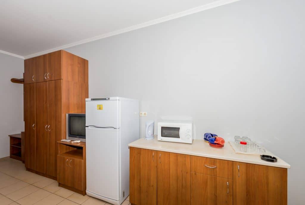 6-местный однокомнатный люкс. Кухня2