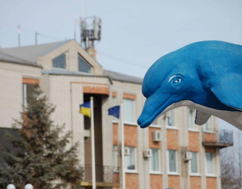 Дельфин в Кирилловке