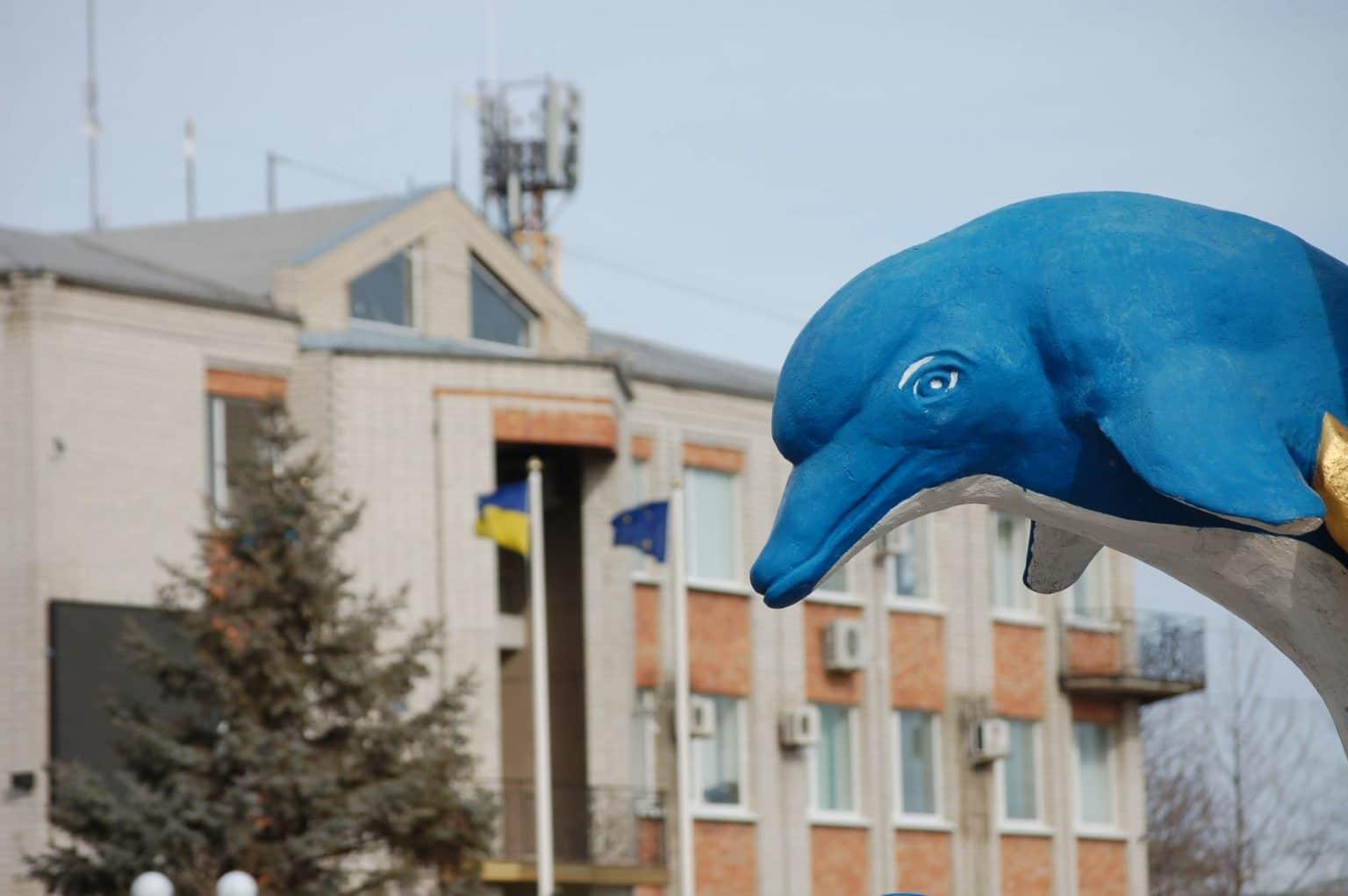 Дельфін в Кирилівці