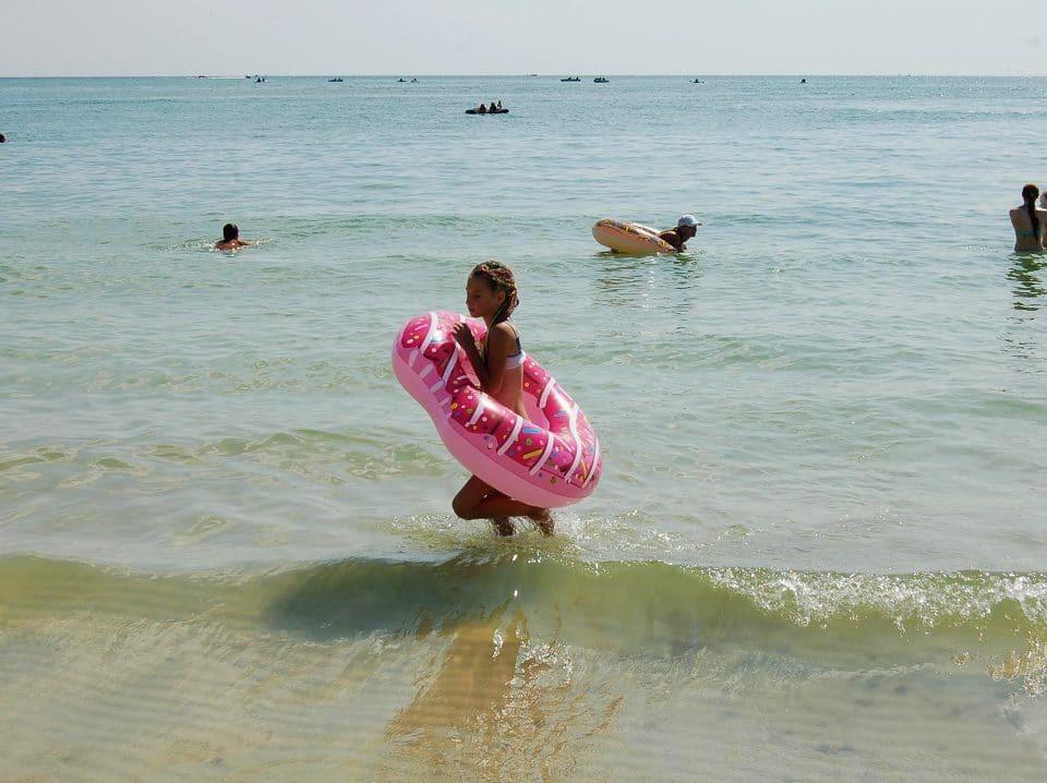Власний пляж