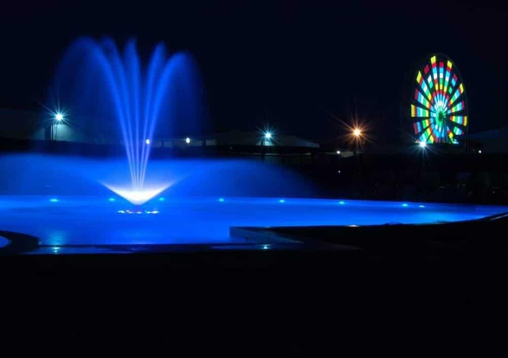 Вечірній басейн в Кирилівці